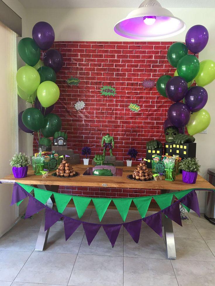Tema Da Festa Hulk Guia Tudo Festa Blog De Festas