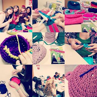talleres ganchillo, talleres crochet, talleres trapillo, trapillo, ganchillo, crochet