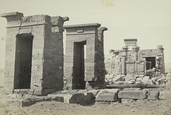 Templo de debod lugar original