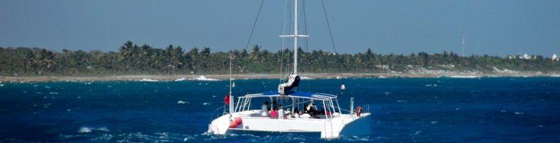 Catamaran Rental Riviera Maya Puerto Aventuras