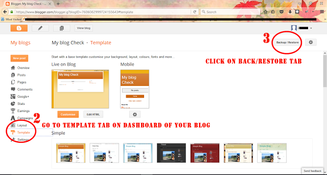 Install Theme in Blogger - Dots Created