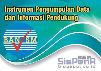 Download Instrumen Pengumpulan Data dan Informasi Pendukung Akreditasi SD-MI