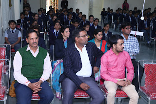 Audience at Vardhaman Infotech Curecity Interschool prize distribution