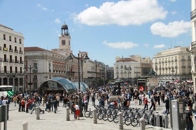 Gran Via Madrid - nähtävyydet Madridissa - lomalla ilman lapsia