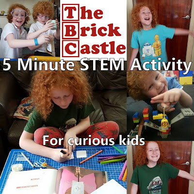 5 Minute Science STEM for kids FREE activities