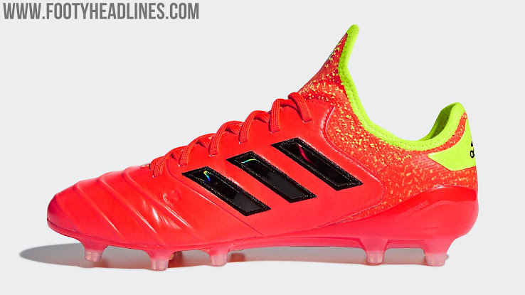ed86e0158 Debuted in late 2017, the Adidas Copa 18.1 football boots are the first of  their kind to combine the traditional leather found on this 3 Stripes  staple with ...