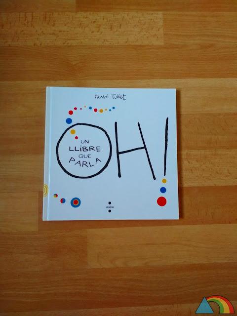 """Portada del libro """"¡Oh! Un libro con sonidos"""" de Hevé Tullet"""
