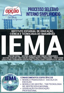 www.apostilasopcao.com.br/apostilas/2382/4862/processo-seletivo-interno-simplificado-iema-2017/gestor-geral-e-auxiliar-e-professor-exceto-aten-educ-esp-e-int-de-libras.php?afiliado=13730
