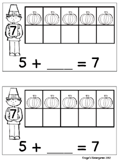 Kroger's Kindergarten: Here comes Thanksgiving!!