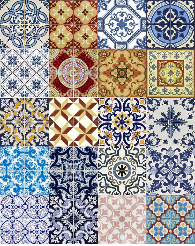 Dedais da am lia portugal azulejos tradicionais for Azulejos de portugal