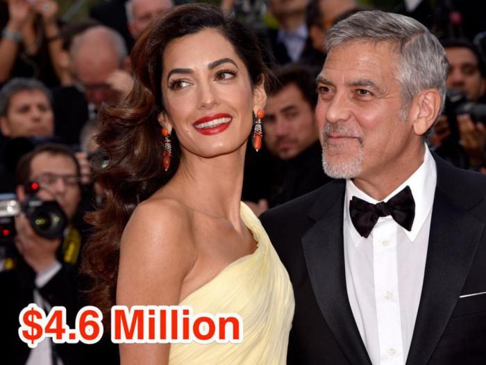 15-George Clooney and Amal Alamuddin