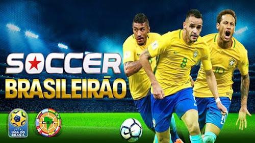 Dream League Soccer Brasileirão 2018 Apk + Data (Android)