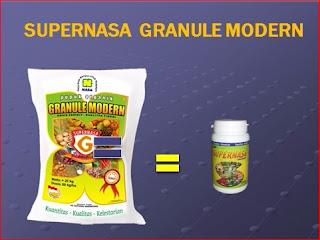 pupuk organik supernasa granule