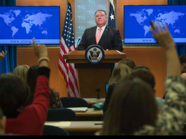 Pompeo says US to fight China 'empire' of 'bribes'