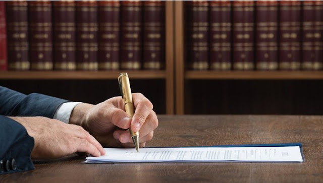 بحث ودراسة عن توقيع الحكم