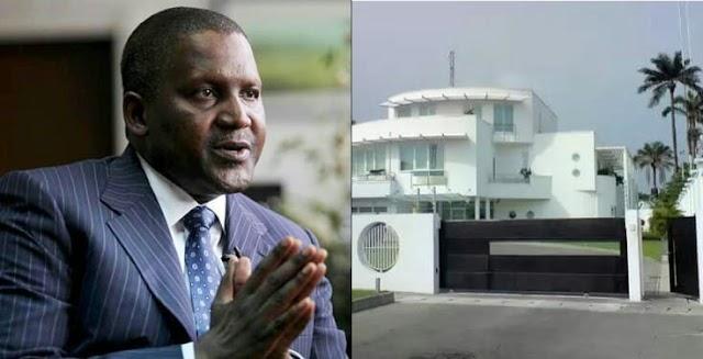 Dangote reveals why he has no personal house outside Nigeria