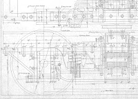 A partial image of Chicago Elevated truck drawings