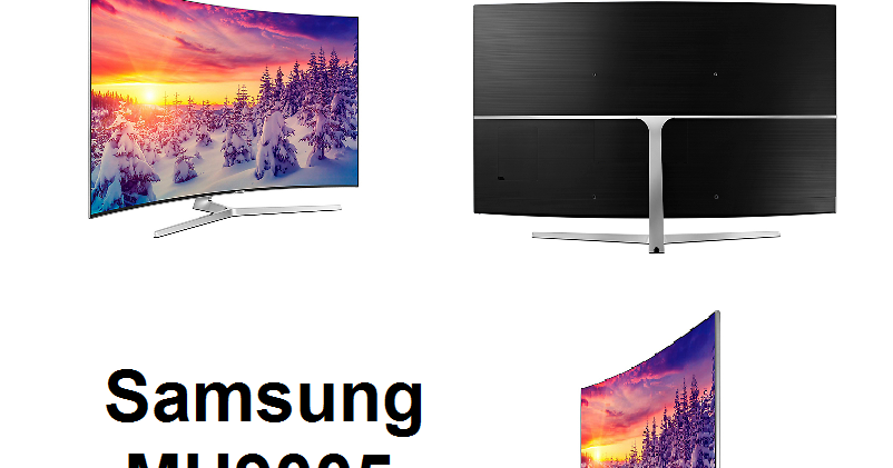 samsung mu9005 meilleur lcd led de samsung 2017 televiseur led. Black Bedroom Furniture Sets. Home Design Ideas