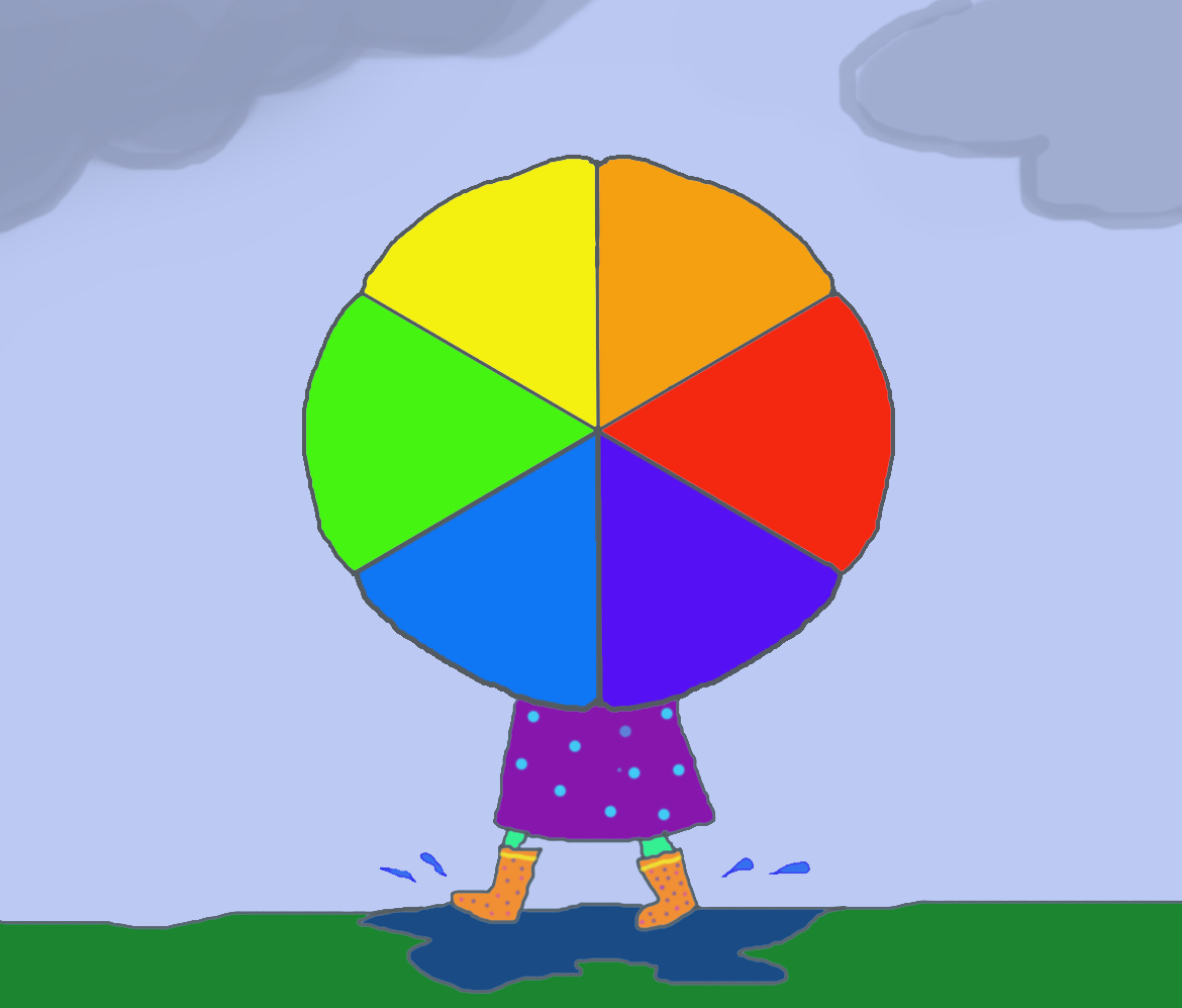 Color Wheel Umbrella Art Class Ideas Rh Artclassideas Blogspot Com 3d