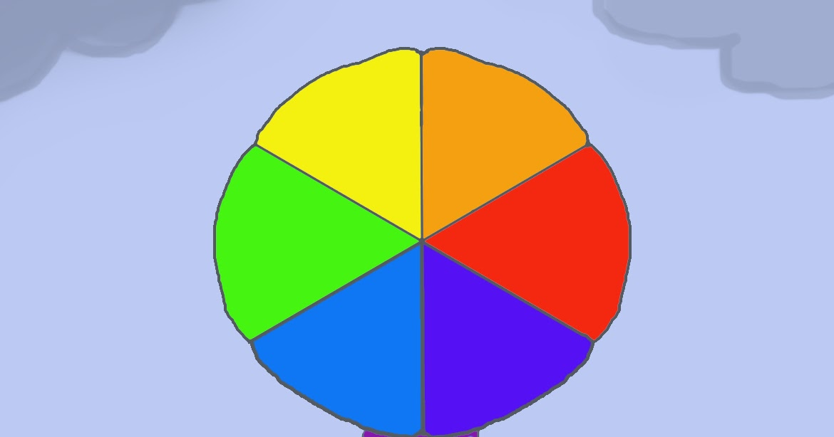 Art Class Ideas: Color Wheel Umbrella