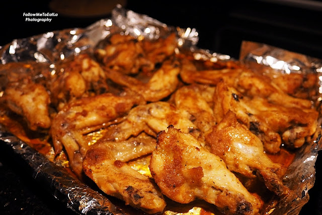 Classic Spicy Garlic & Ginger Roast Chicken Wings  With Panasonic Cubie Oven