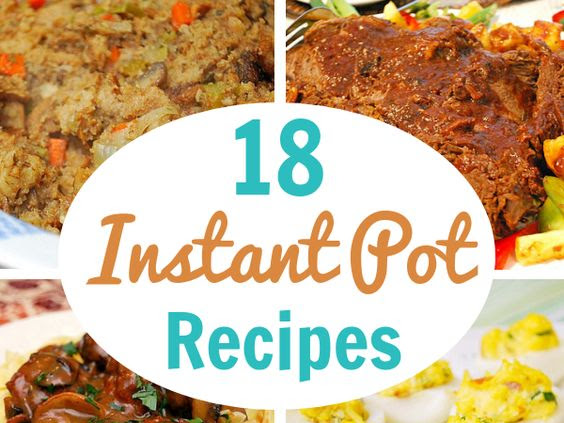 Instant Pot: November Recipe Round Up!