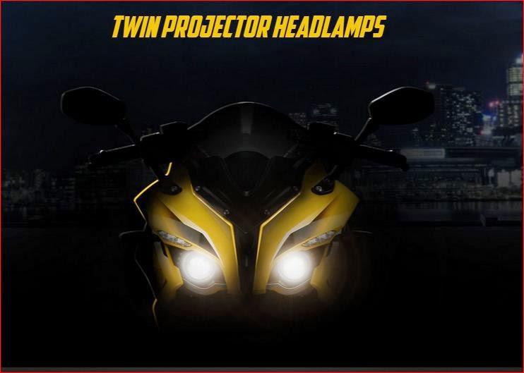 bajaj Pulsar RS200 headlight