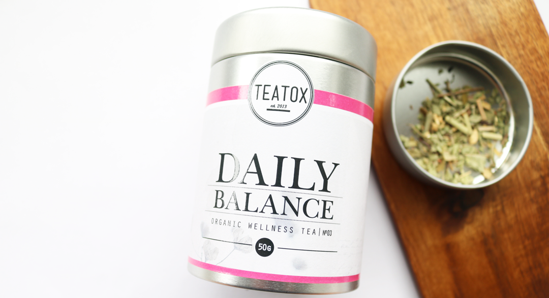 Teatox Daily Balance Organic Wellness Tea