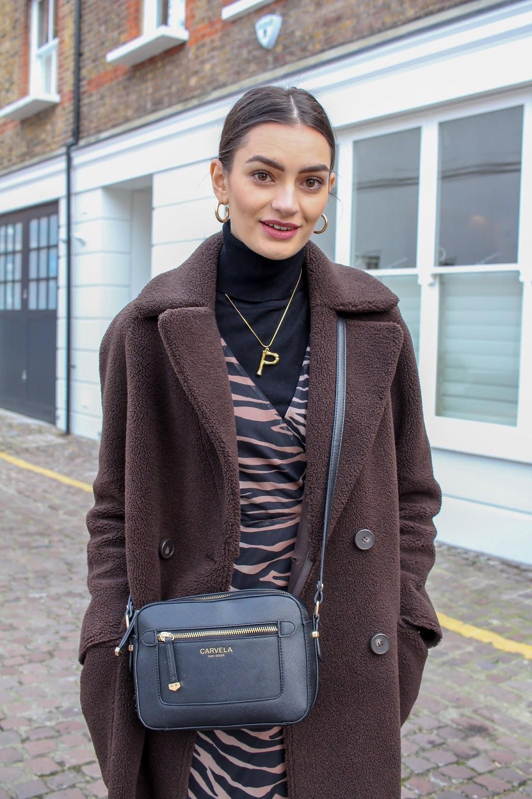 styling tiger print dress day-to-night peexo