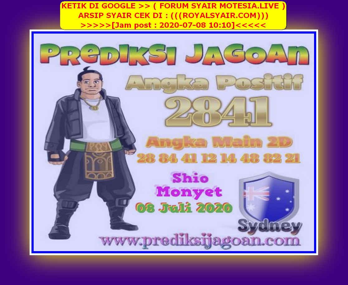 Kode syair Sydney Rabu 8 Juli 2020 129