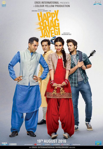 Happy Bhaag Jayegi 2016 Full Hindi Movie HD 720p Download 700mb