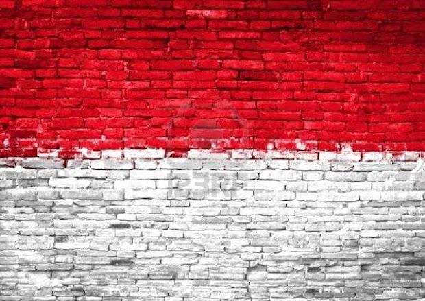 tembok merah putih