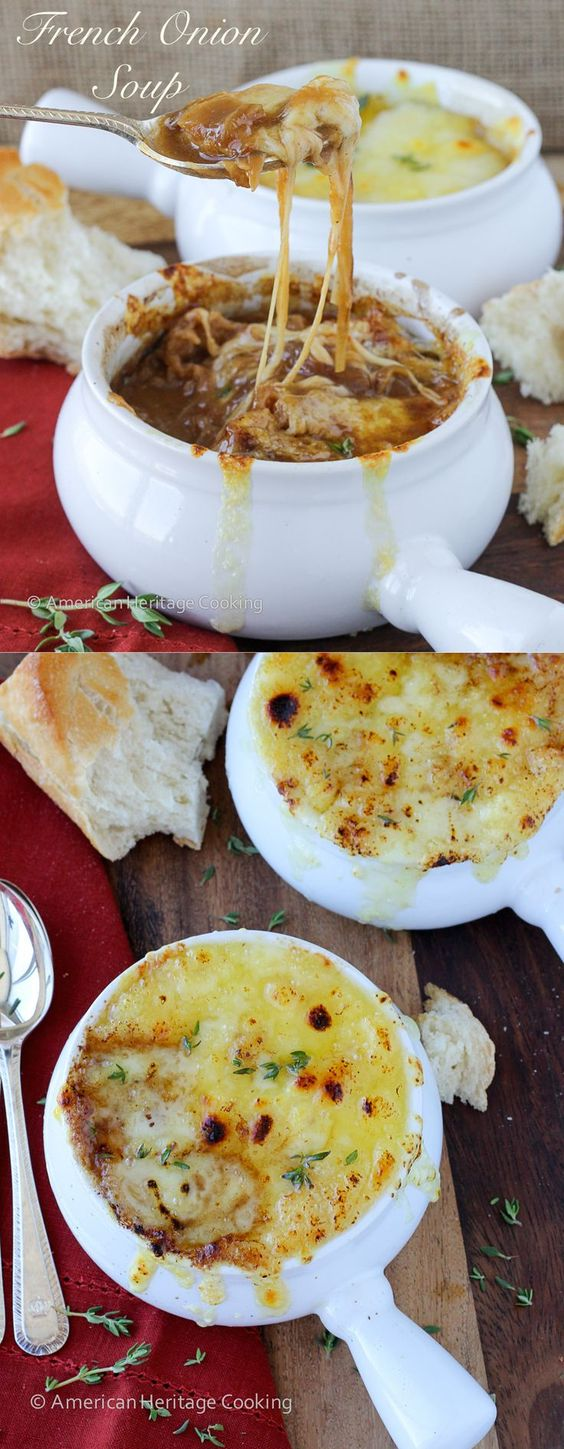 The Best French Onion Soup – A love story #SOUP
