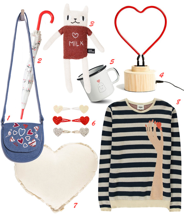 Shopping Saint Valentin - enfants