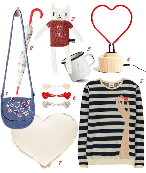Shopping Saint Valentin - enfants