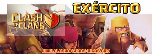 Tudo sobre o exército de Clash of Clans
