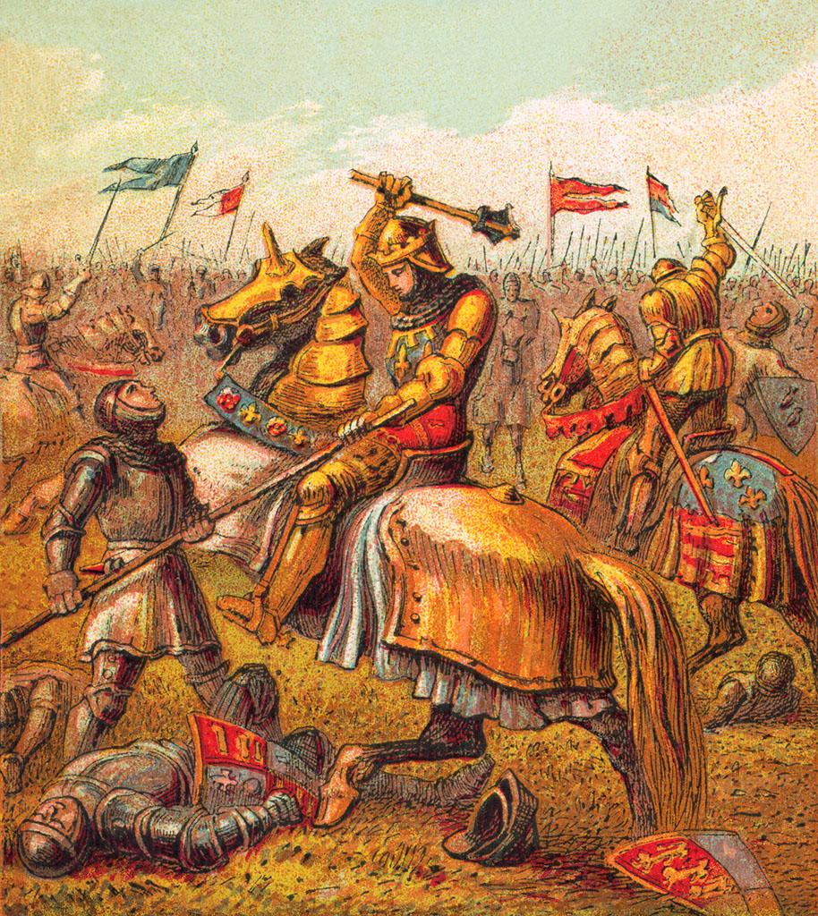 Battle in Towton, March 1461