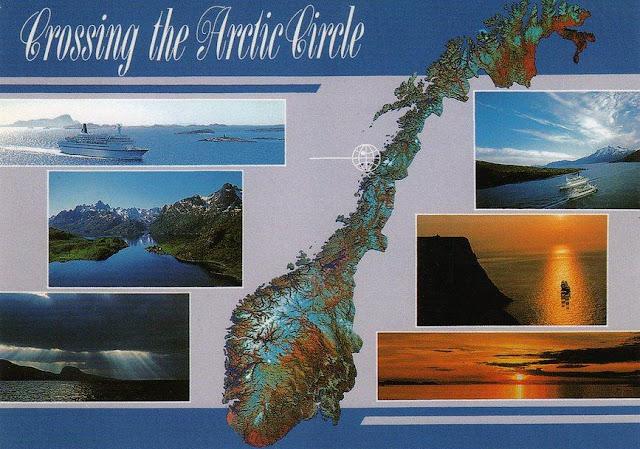 Норвегия. Crossing the Arctic Circle (Пересекая полярный круг)