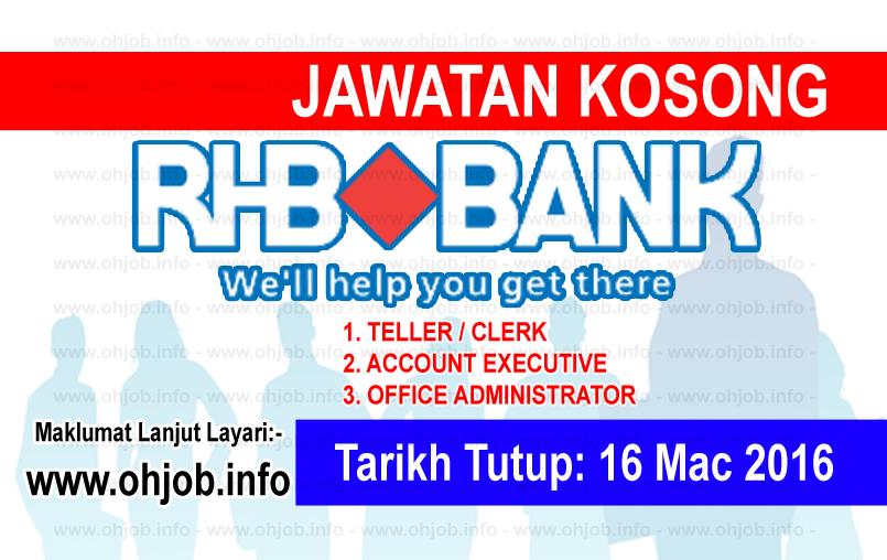 Jawatan Kerja Kosong RHB Banking Group logo www.ohjob.info mac 2016