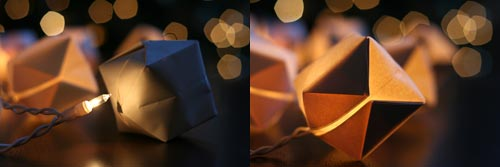 How to Make DIY Paper Cube String Lights