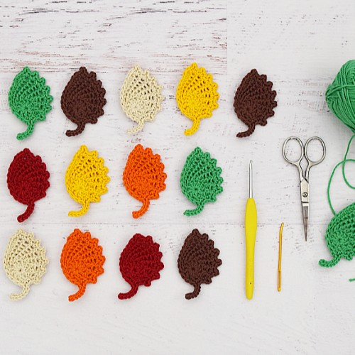 Lacey Autumn Leaves - Free Pattern
