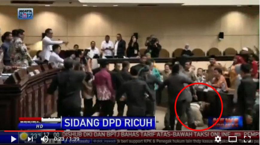 Komandan Kokam Marah Besar Melihat Afnan Dibanting Oknum Anggota DPD