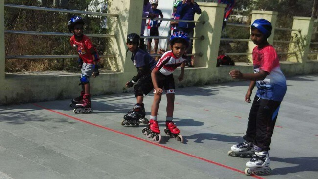 skating classes at inorbit mall in hyderabad masab tank  patny erramanzil  secunderabad skating club association  cyberabad
