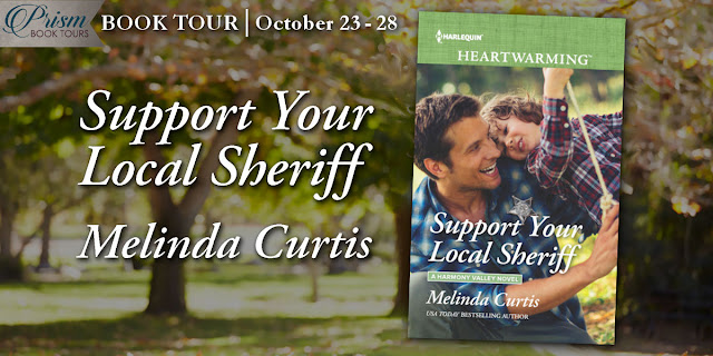 We're launching the Book Tour for SUPPORT YOUR LOCAL SHERIFF by MELINDA CURTIS!