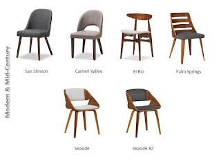 Modern & Mid-Century Chairs