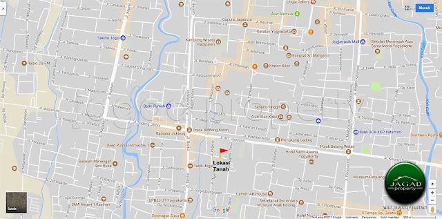 Tanah Bonus Bangunan di Pugeran, Kota Jogja