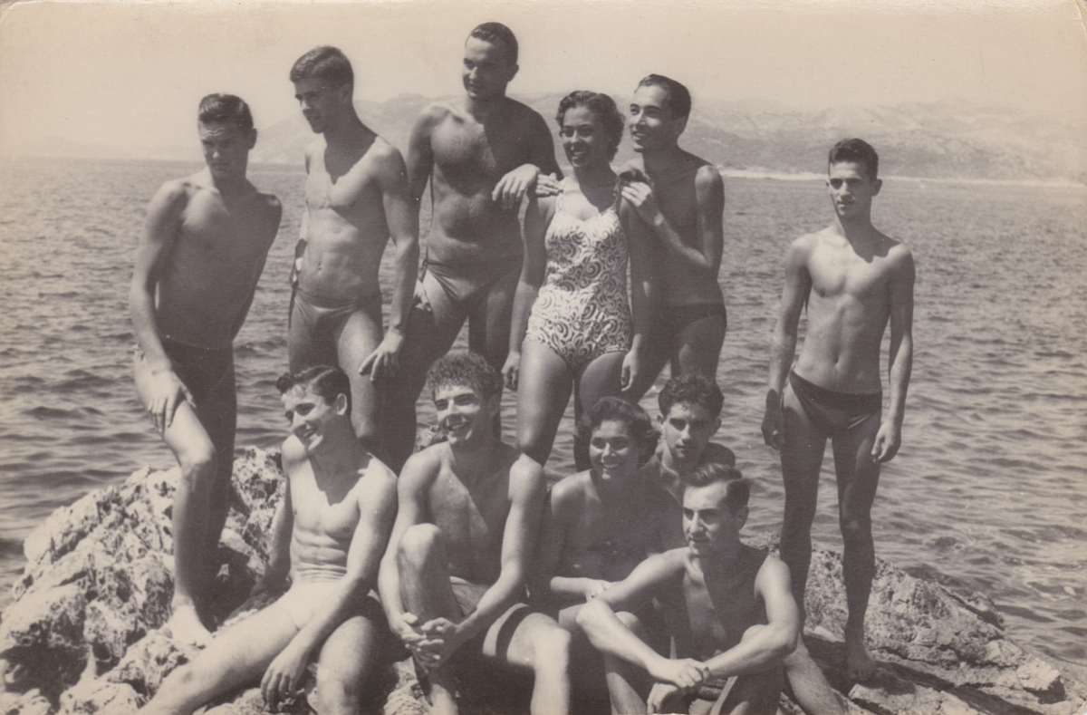 Swimmers - Male Athletes, Nude Athletes and Naked.