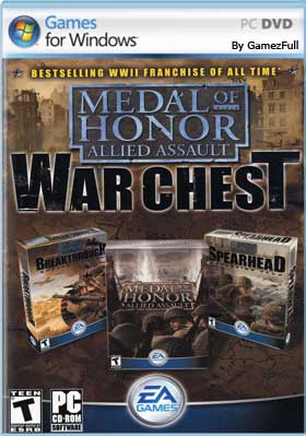 Descargar Medal of Honor Allied Assault War Chest pc full español mega y google drive
