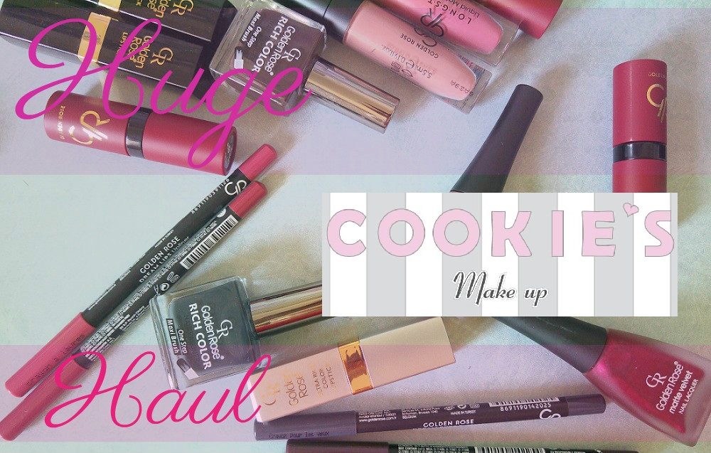 Golden Rose & Cookie's Makeup Makeup Haul