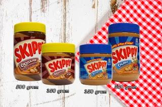 selai skippy peanut butter